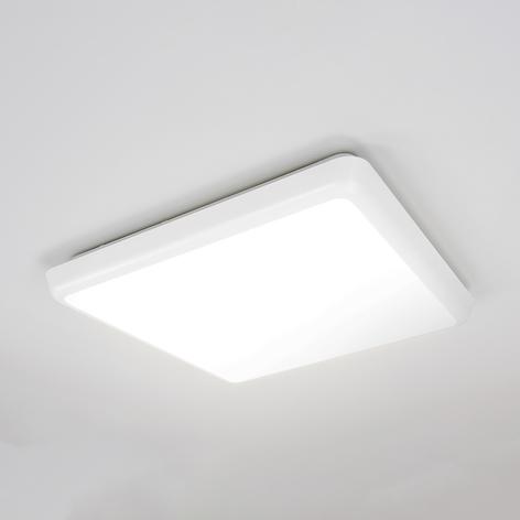 Eenvoudige plafondlamp Augustin met LED, IP54