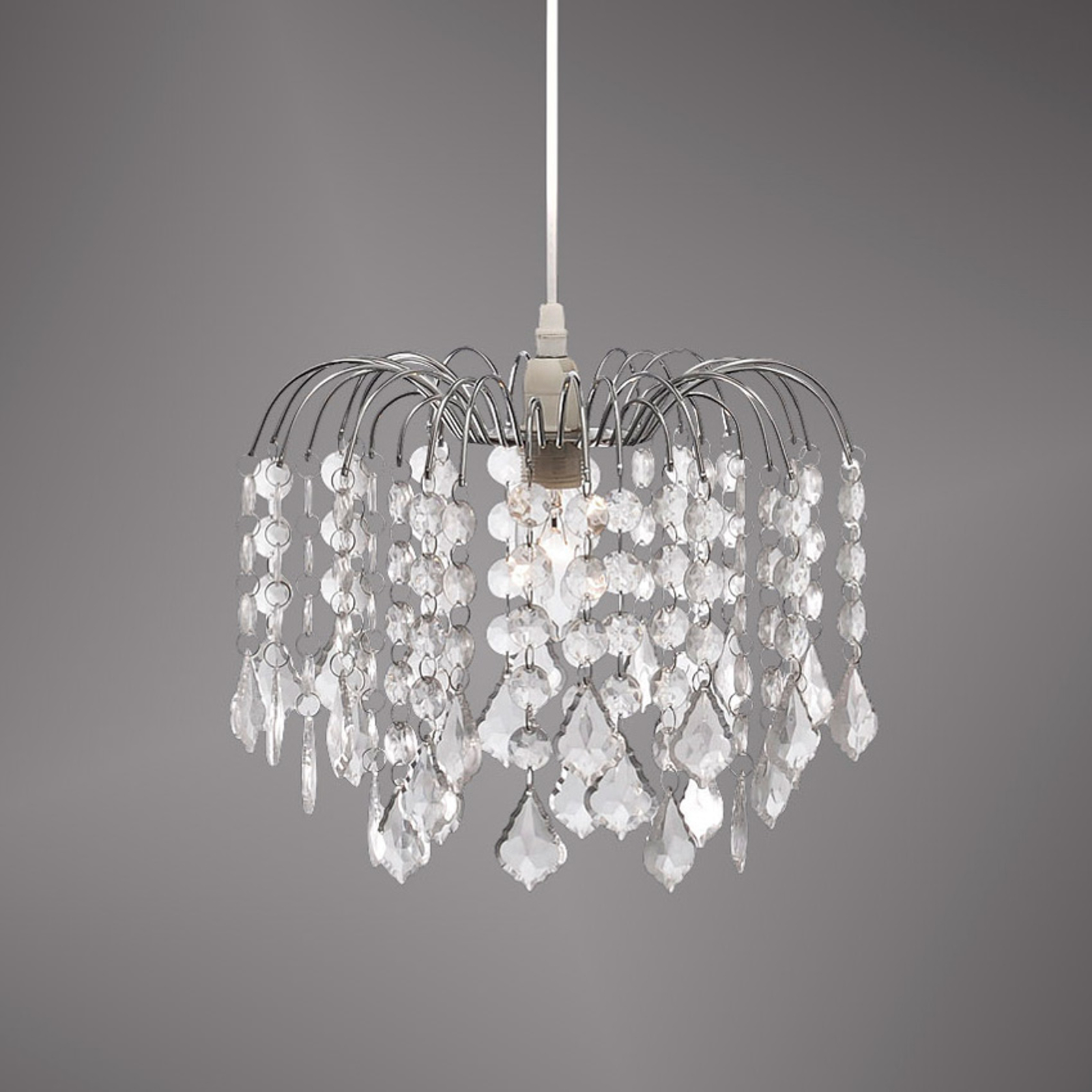 Jelly – lampa wisząca z przejrzystymi zawieszkami