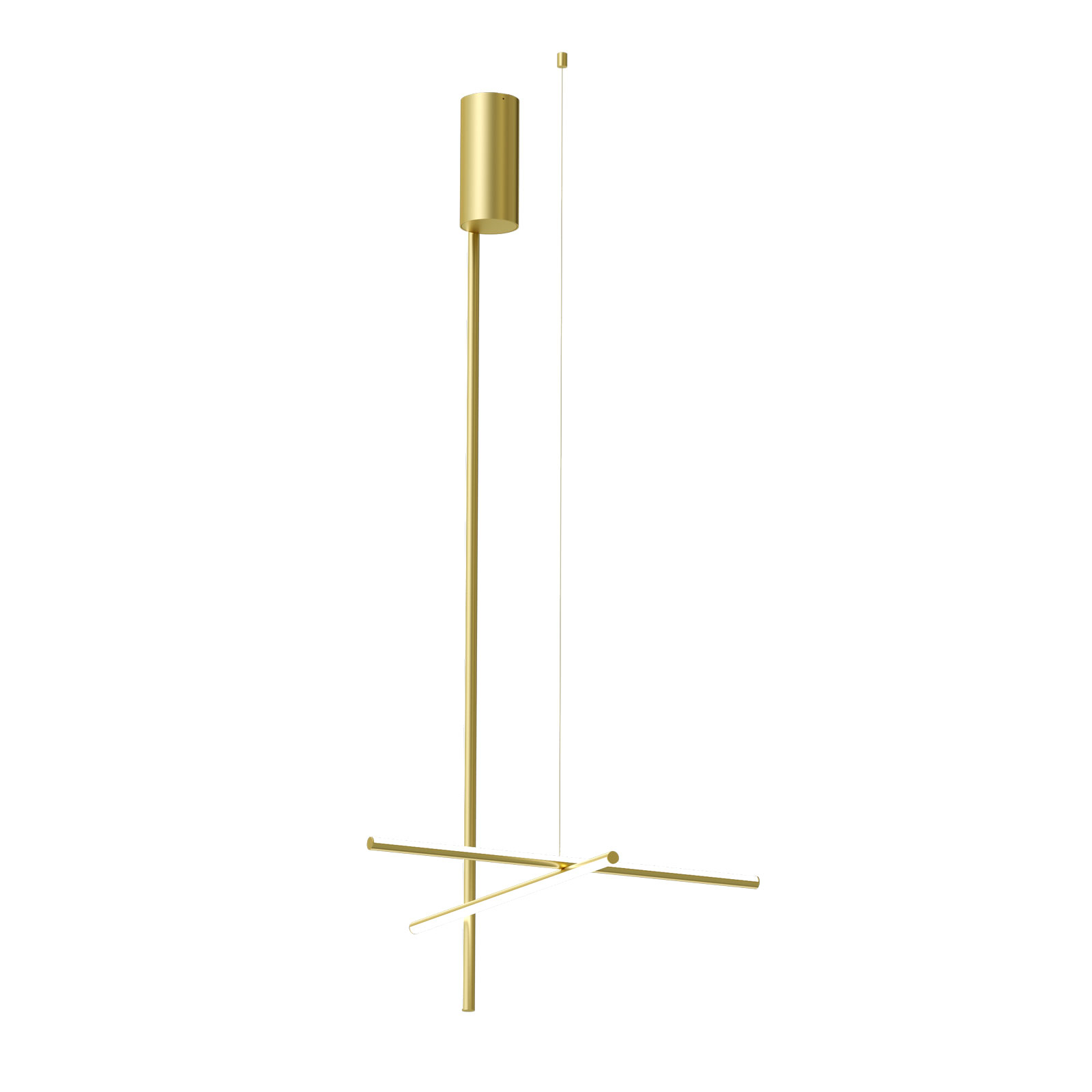 FLOS-koordinater C1 Long LED-loftlampe 172 cm