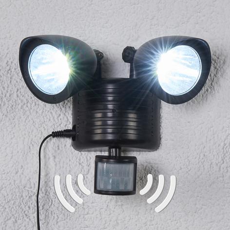 Solární LED reflektor Tamar se dvěma zdroji
