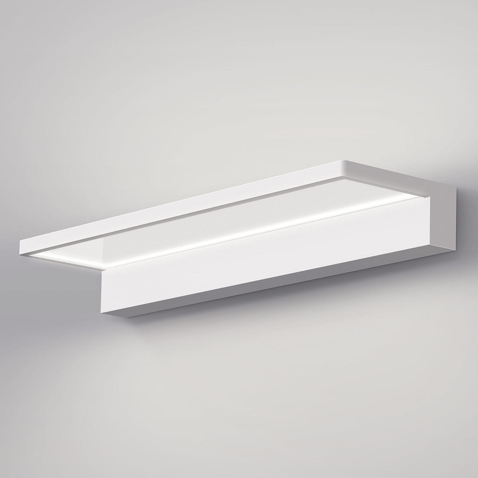 serien.lighting Crib Wall LED-vegglampe, hvit