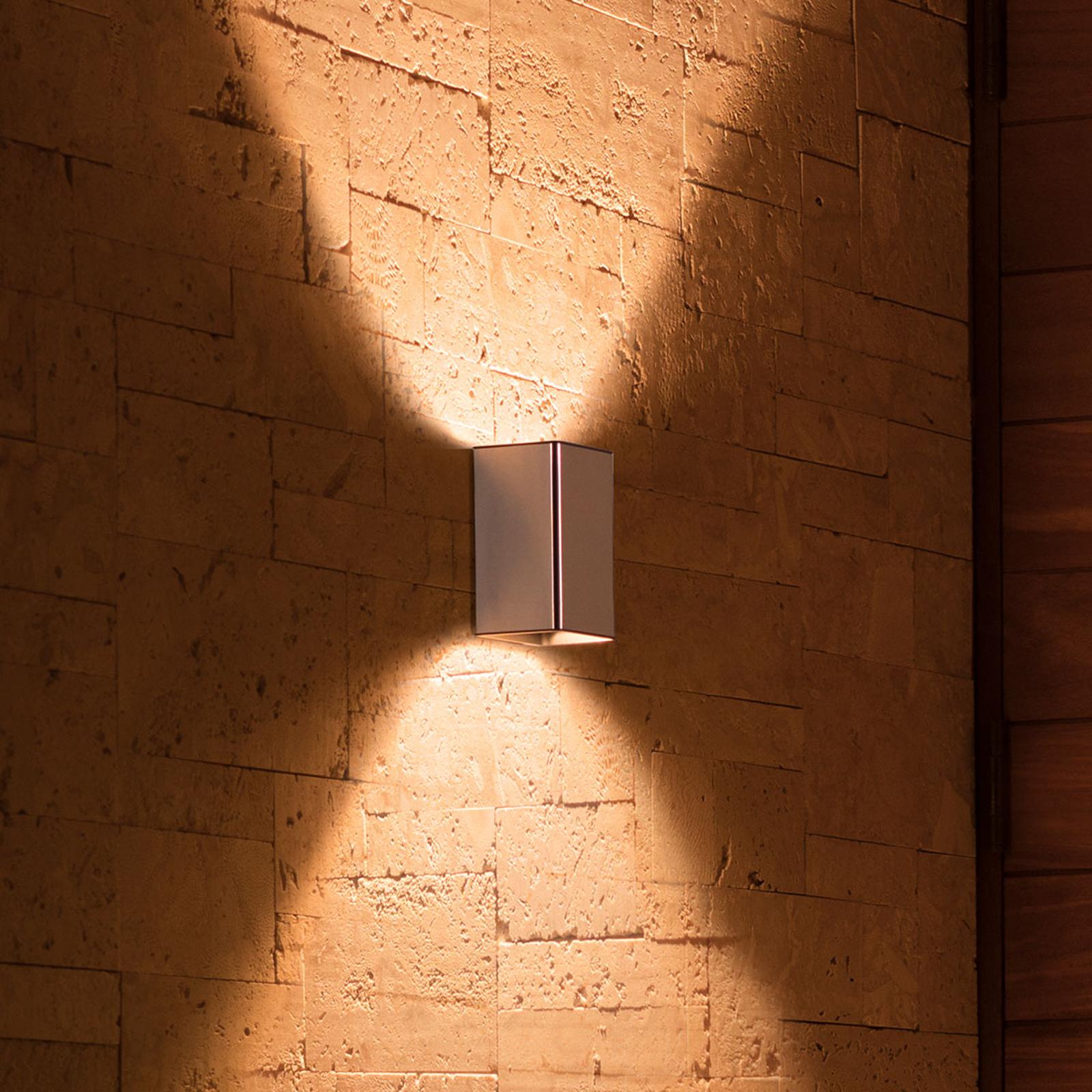 Philips Hue WACA Resonate Außenwandlampe edelstahl