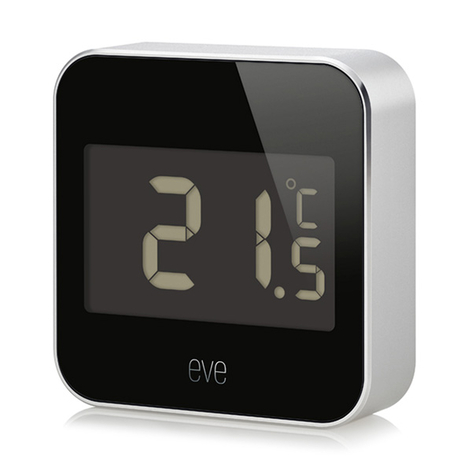 Eve Degree Smart Home estación meteorológica