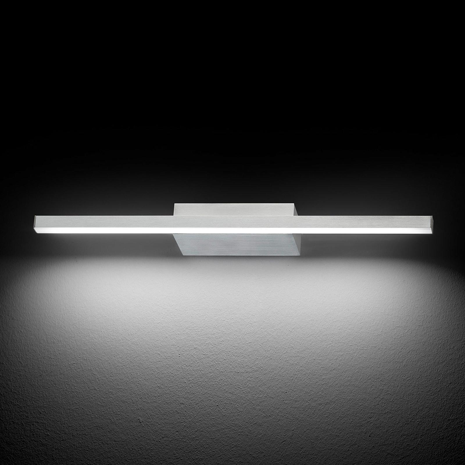 GROSSMANN Forte LED-vägglampa, aluminium 49,4 cm