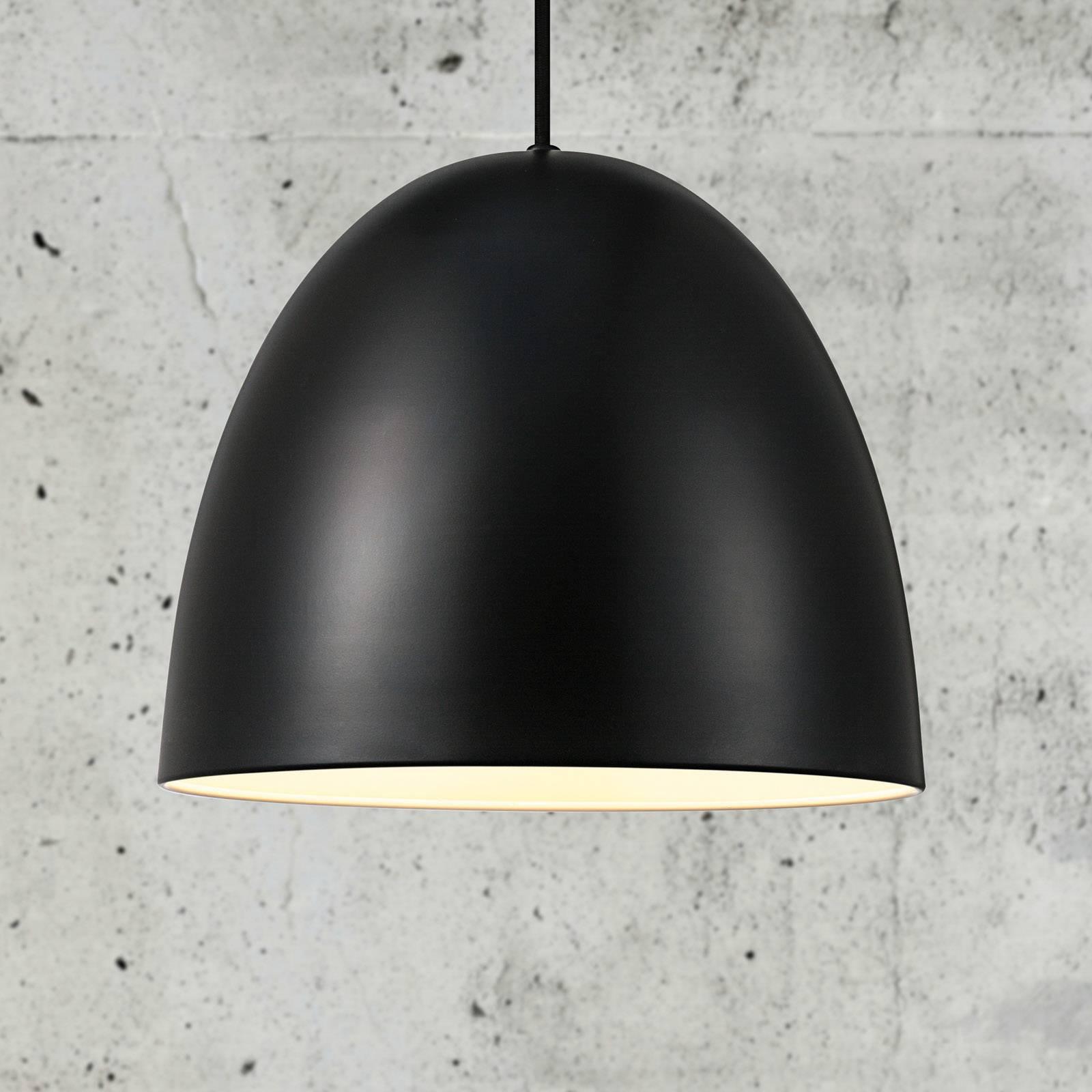 Billede af Alexander hængelampe med metalskærm, sort