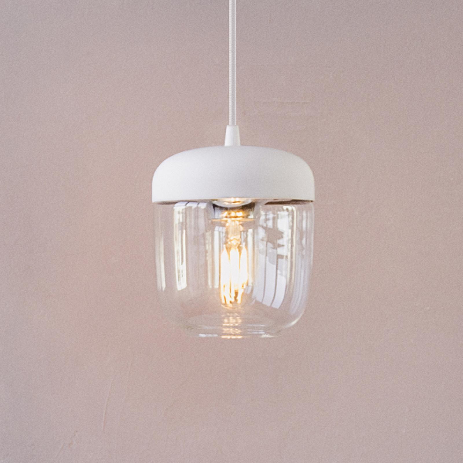 UMAGE Acorn hanglamp wit/messing