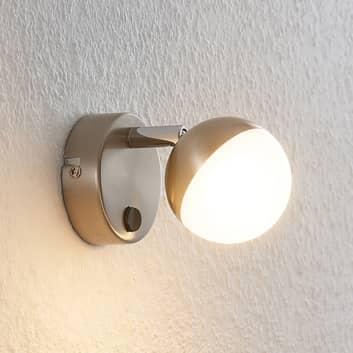 Lindby Lientje lámpara de pared LED de acero