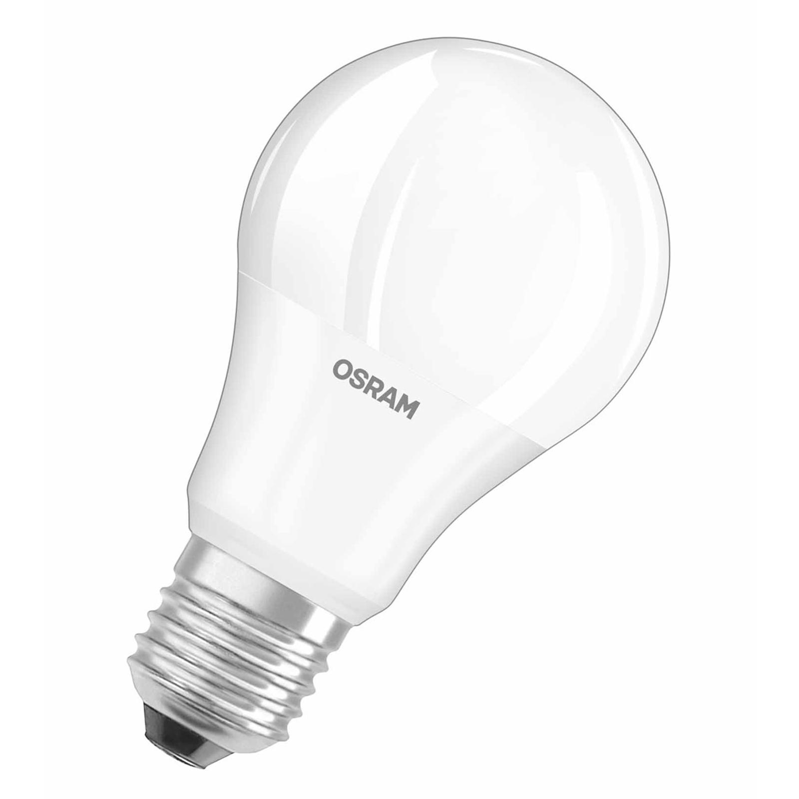 Bombilla LED E27 9,5W 827 mate, juego de 3 uds.