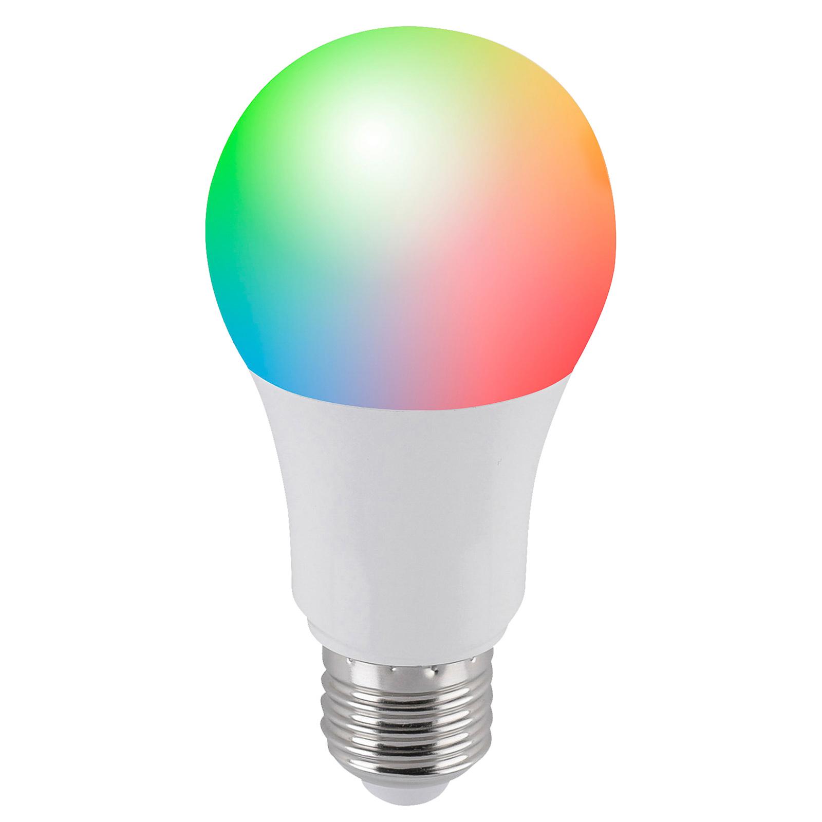 Q-LED lampadina smart E27 9,5 W, RGBW, estensione