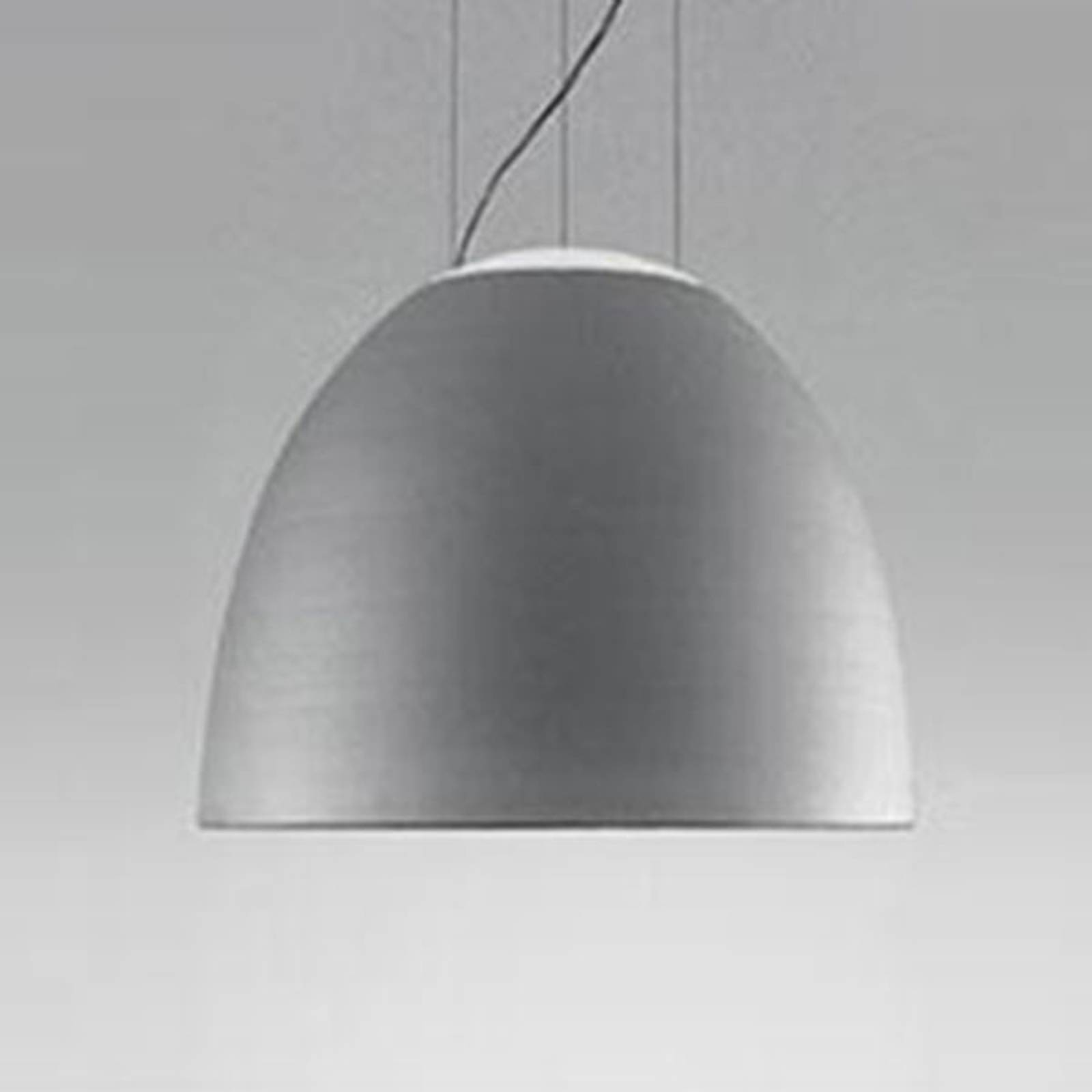 Artemide Nur Mini LED-Hängeleuchte, aluminium