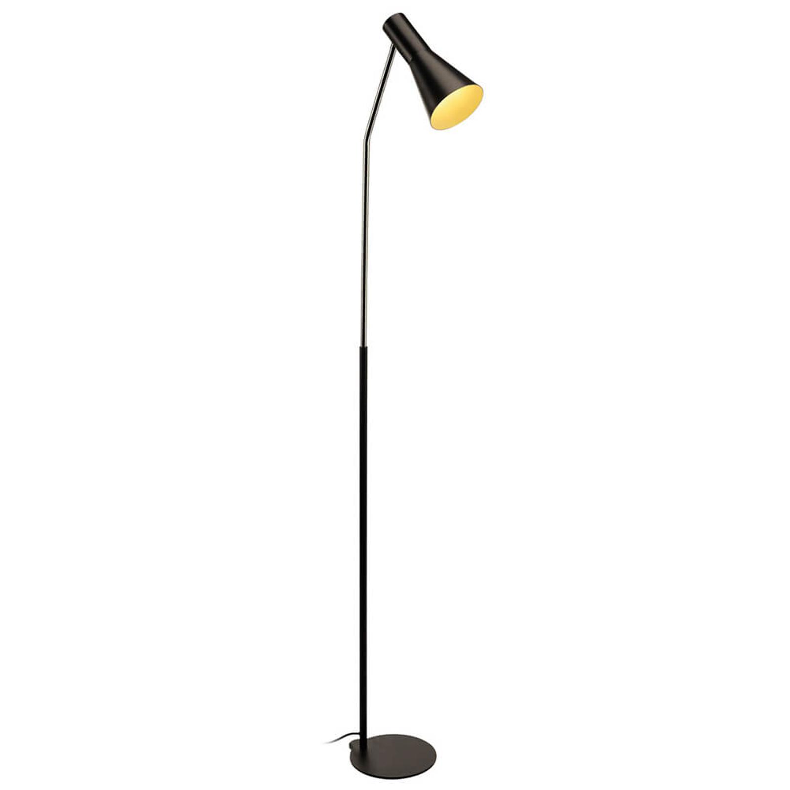 Zwarte vloerlamp Phelia