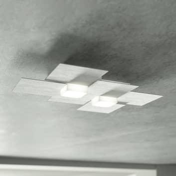 GROSSMANN Creo lampa sufitowa LED 2-pkt.