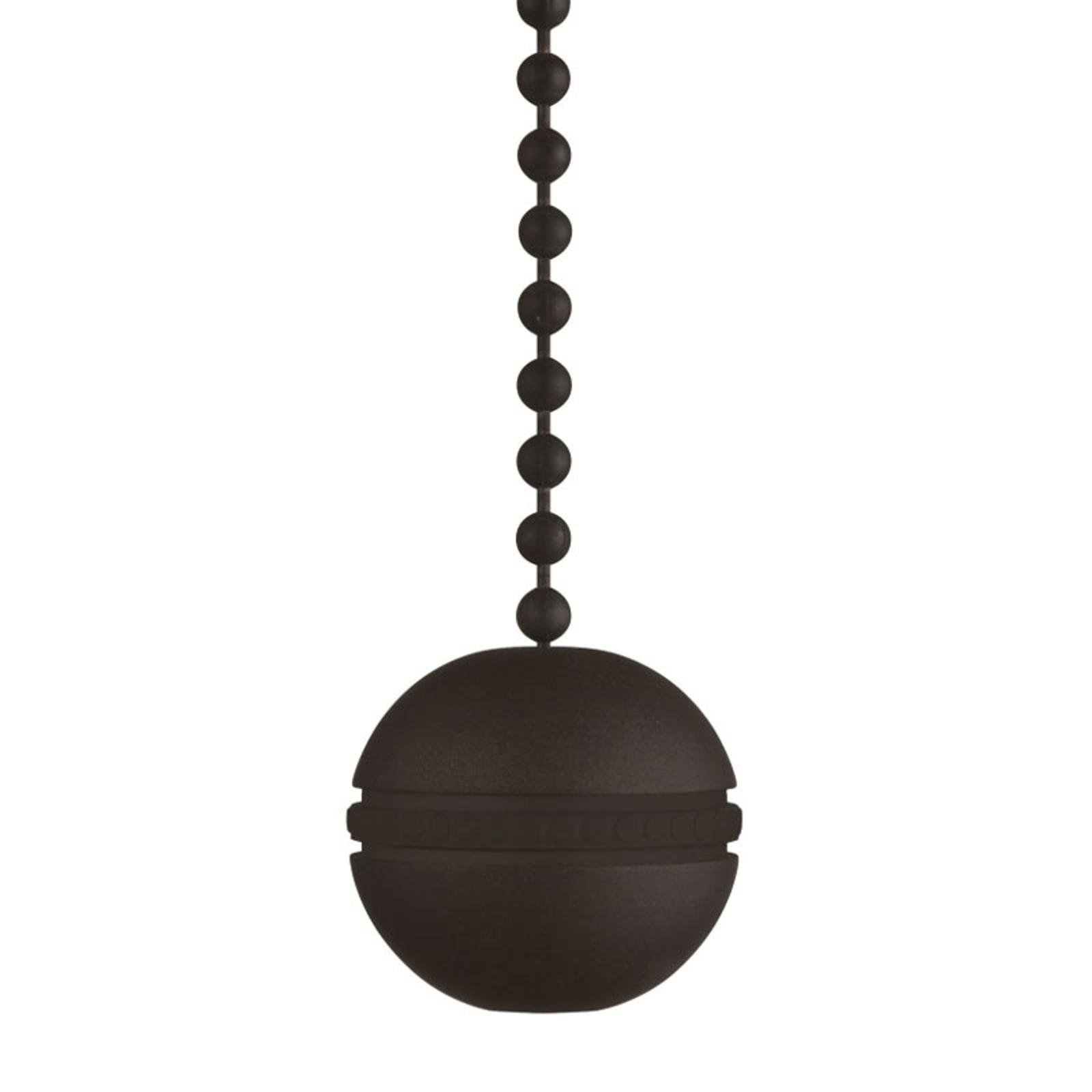 Westinghouse kugle trækkæde ventilator bronze