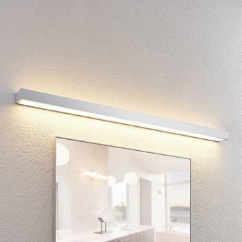 Lindby Layan applique LED per il bagno cromo 120cm