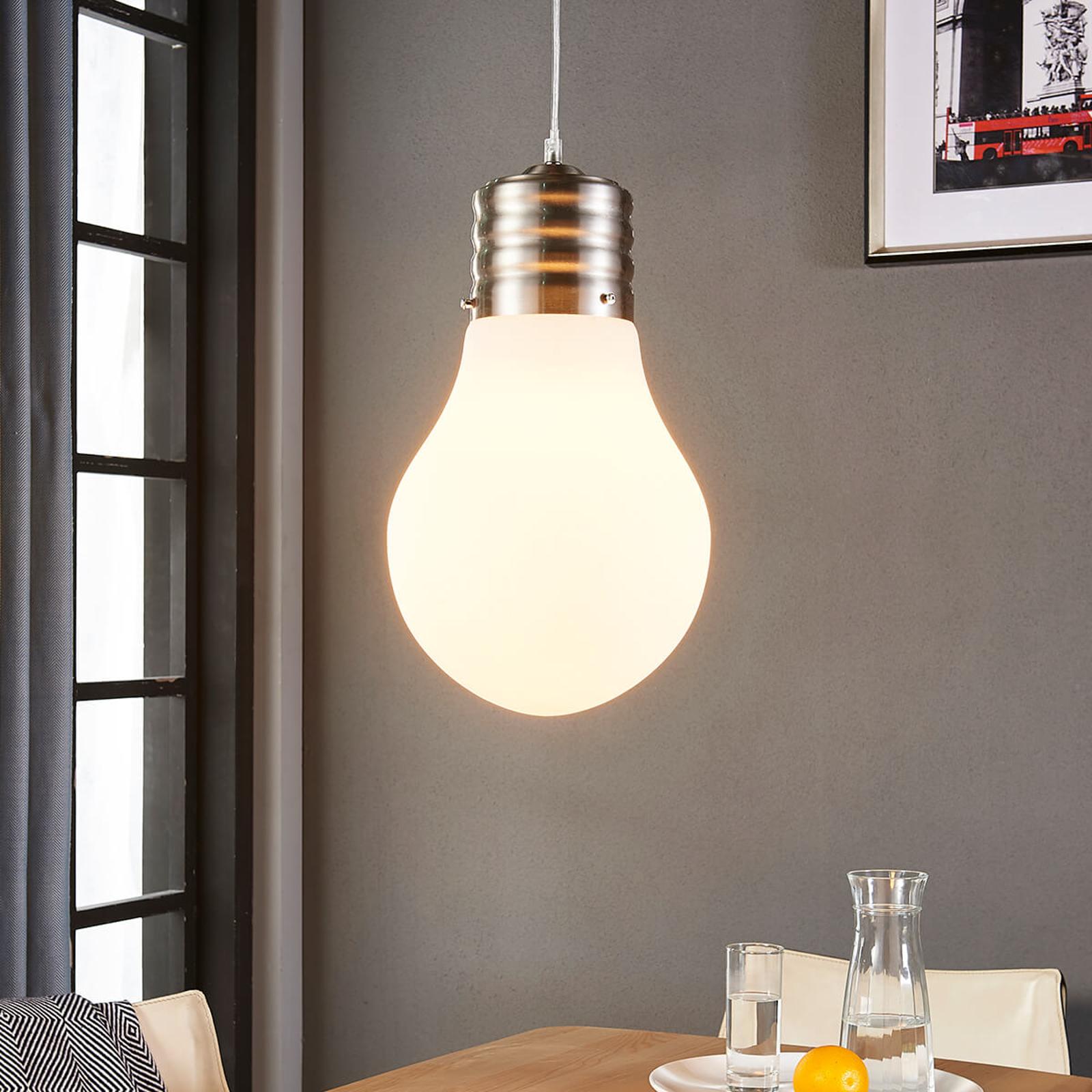 Suspension LED Bado réglable et en forme d'ampoule