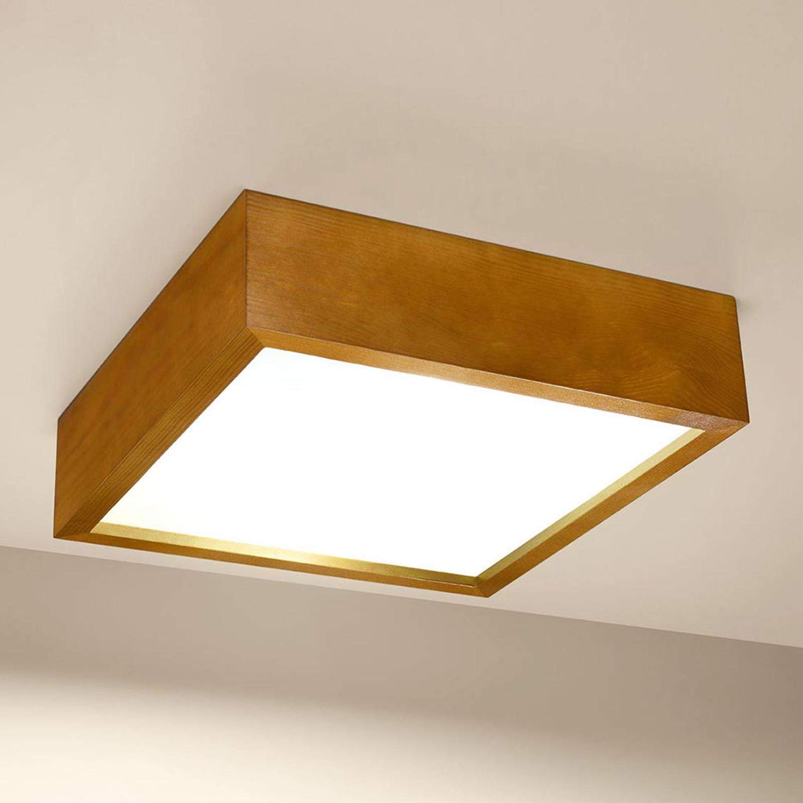 Madras taklampe eik 30,5 x 30,5 cm