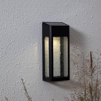 Applique solaire LED Wally en aluminium