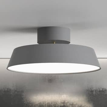 LED-taklampe Alba, svingbar, grå, dimbar