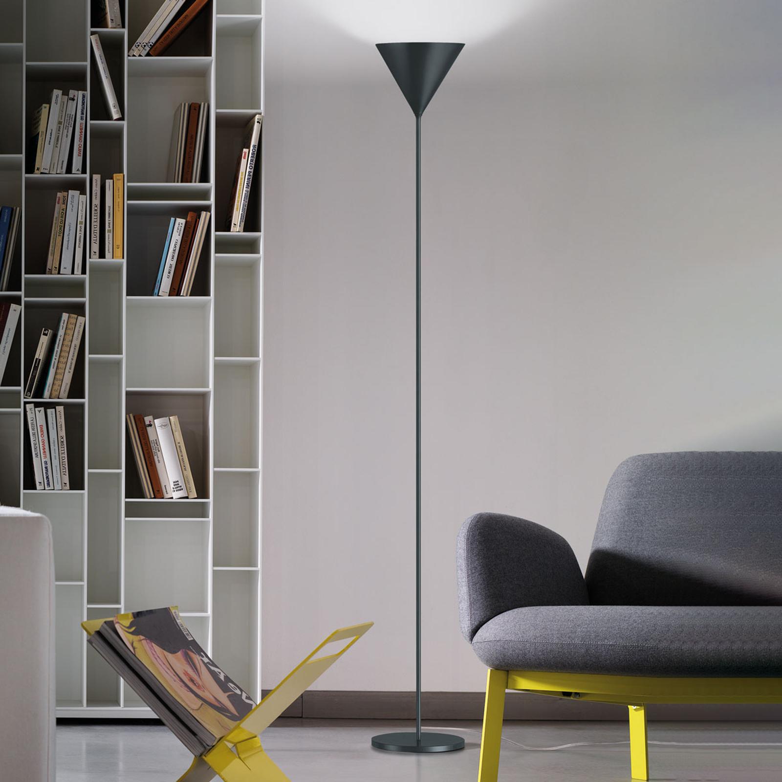 Modo Luce ABC Single lampadaire gris plomb