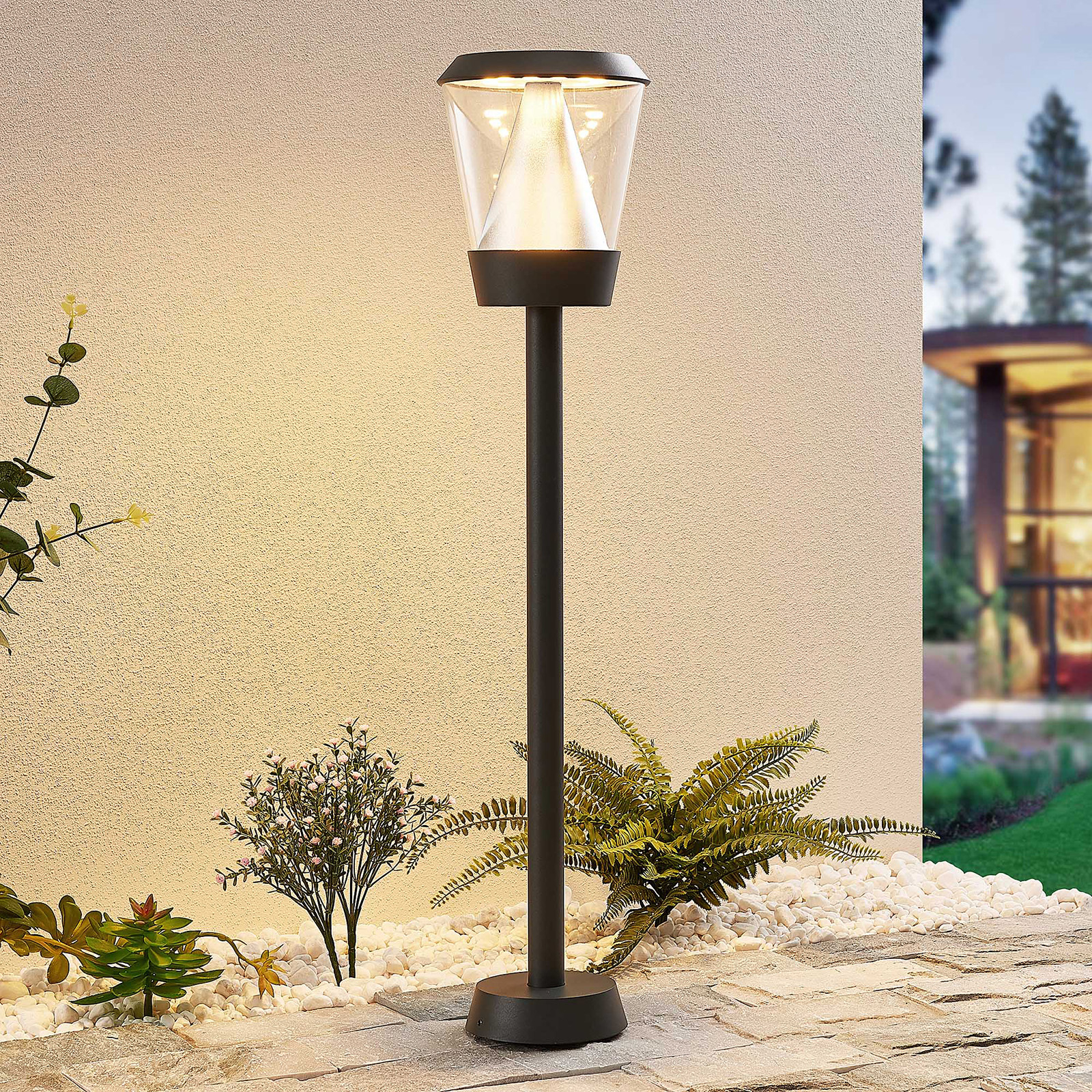 Lucande Tiany LED tuinpadverlichting, 80 cm