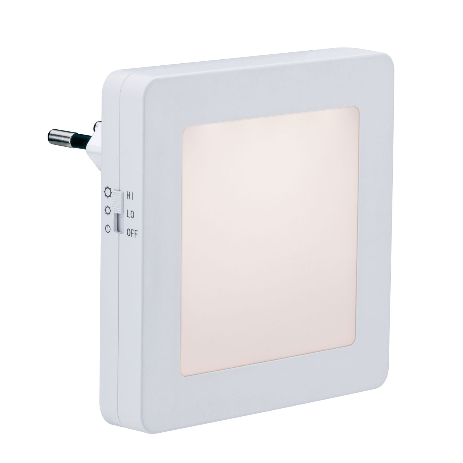 Paulmann Esby LED-Nachtlicht, Steckdose, eckig