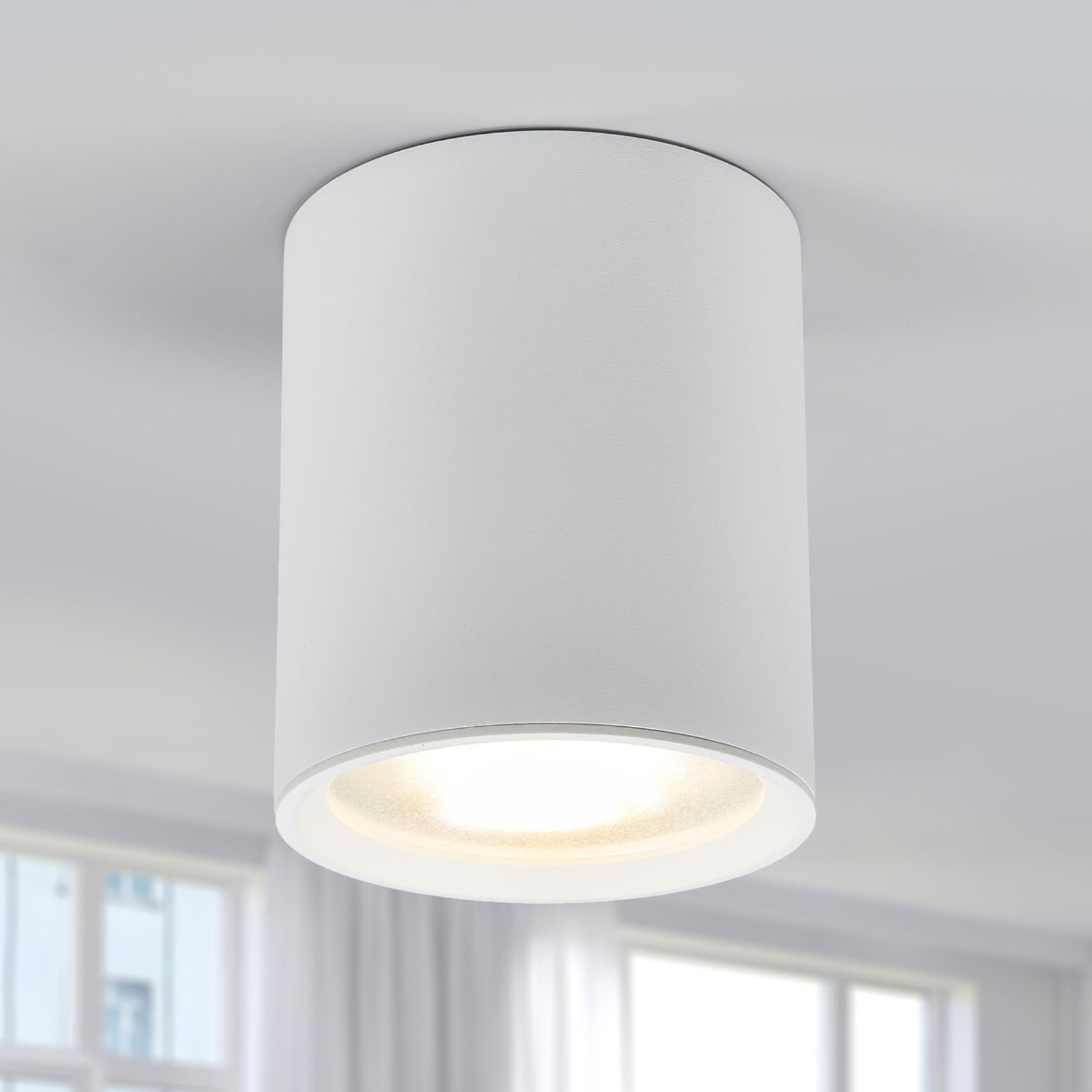 Lampa sufitowa LED Benk, 13 cm, 12,3 W