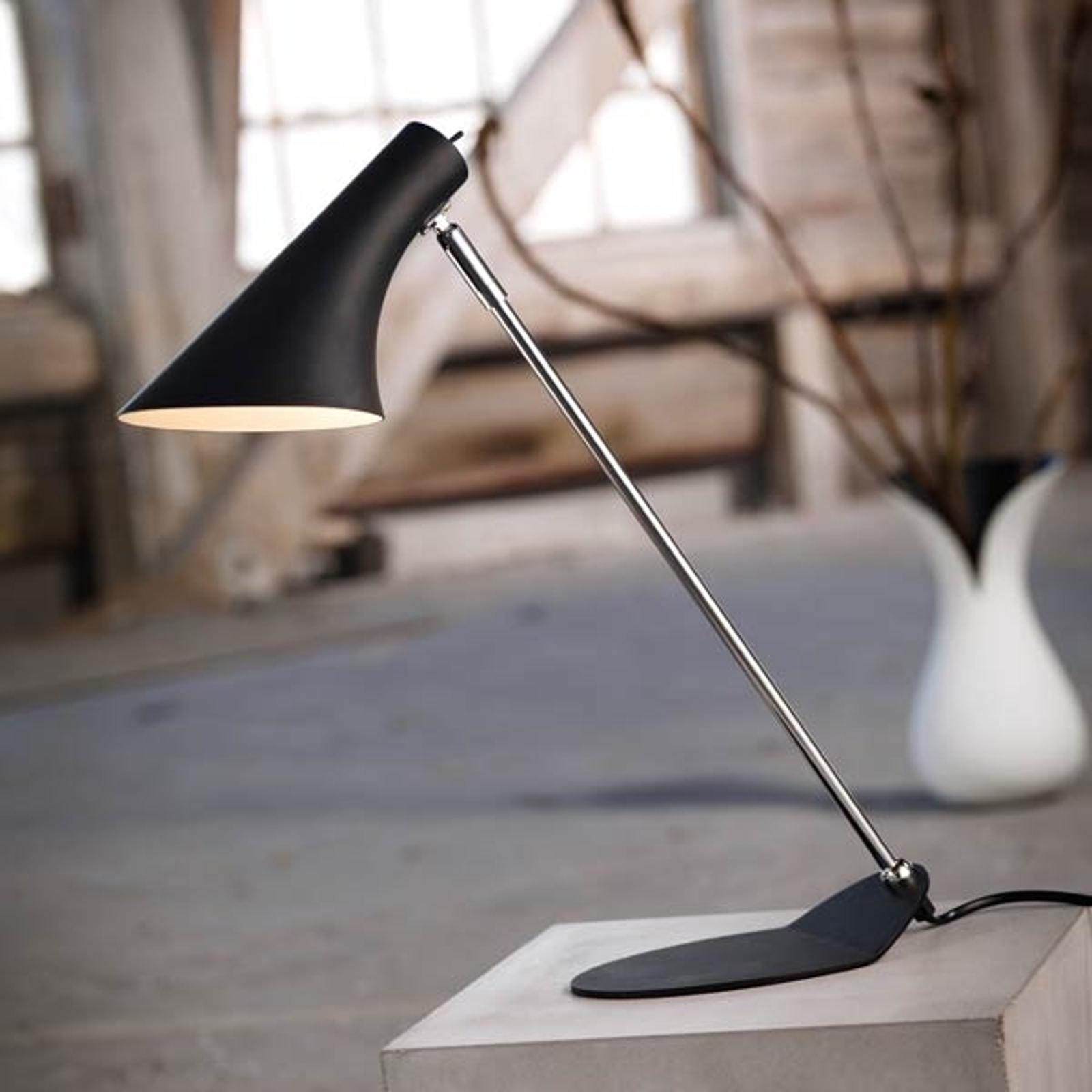 Lampe de bureau tendance VANILLIA, noire