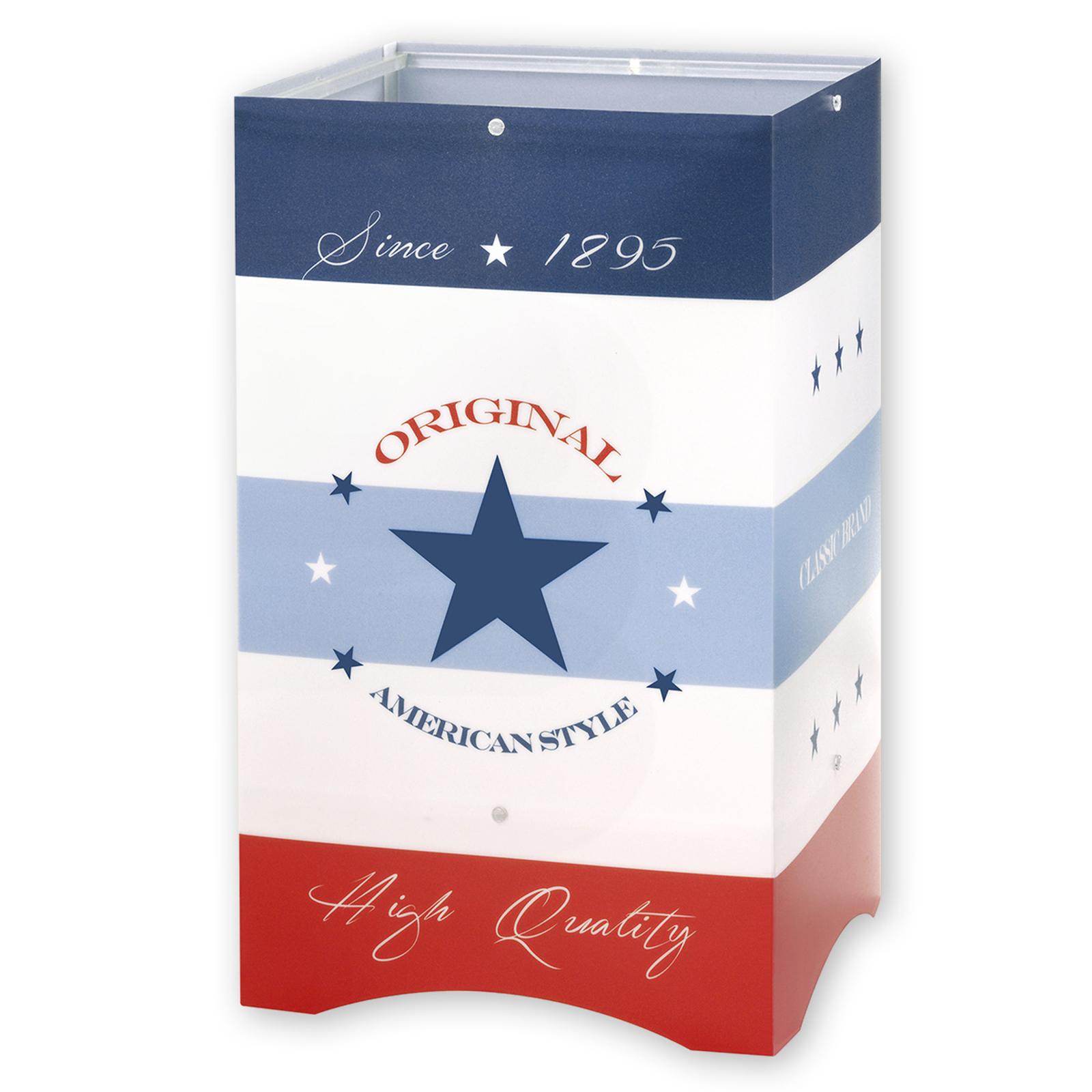 American Style - kinder-tafellamp in USA-stijl