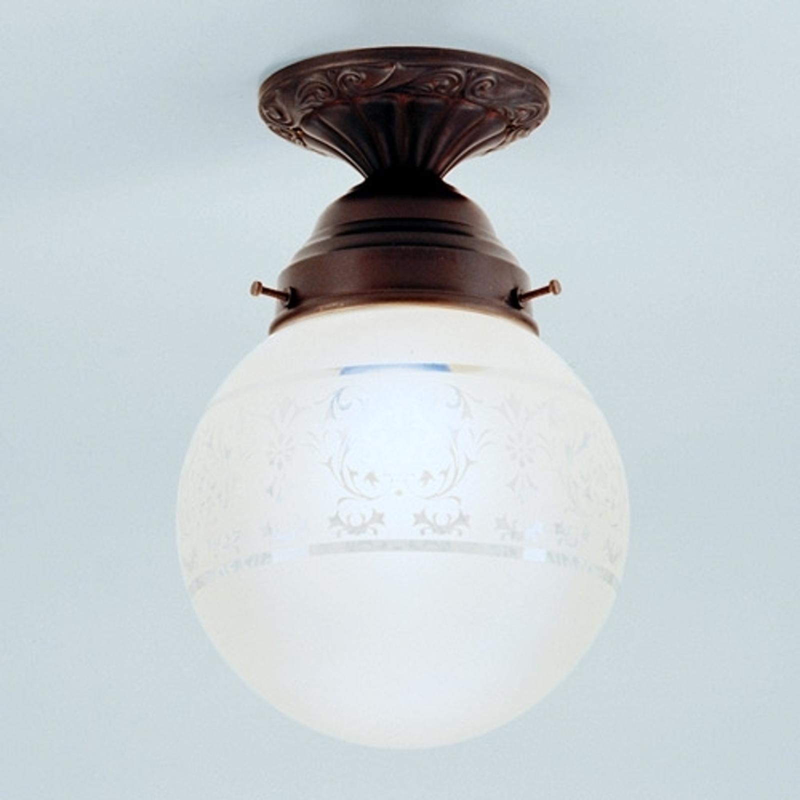 Jack - una lámpara de techo hecha a mano