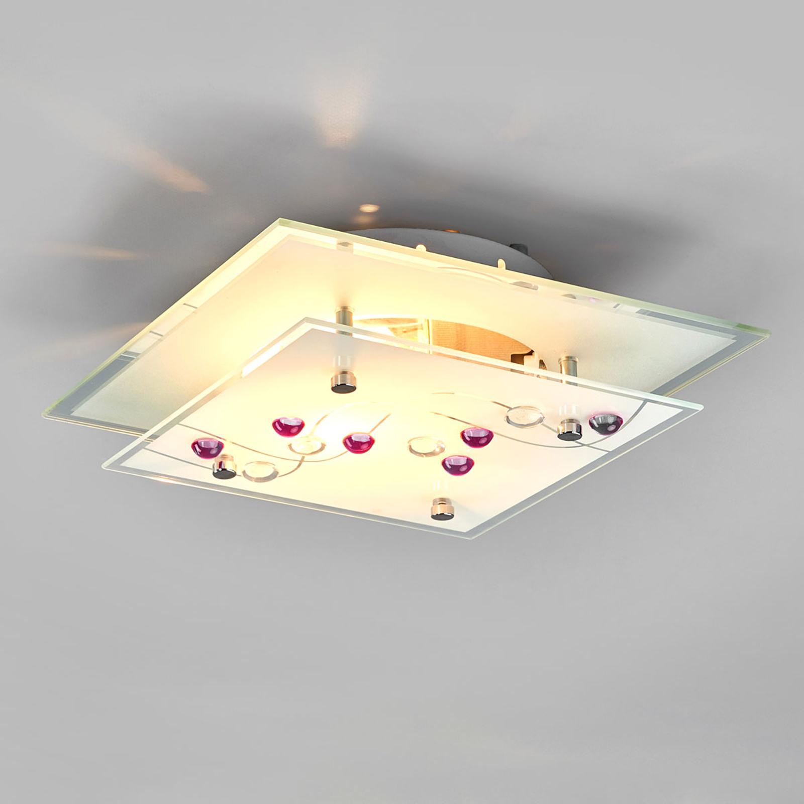 Aantrekkelijke plafondlamp BALLERINA