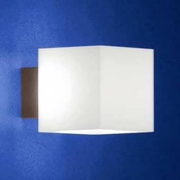 Bländfri vägglampa CUBE