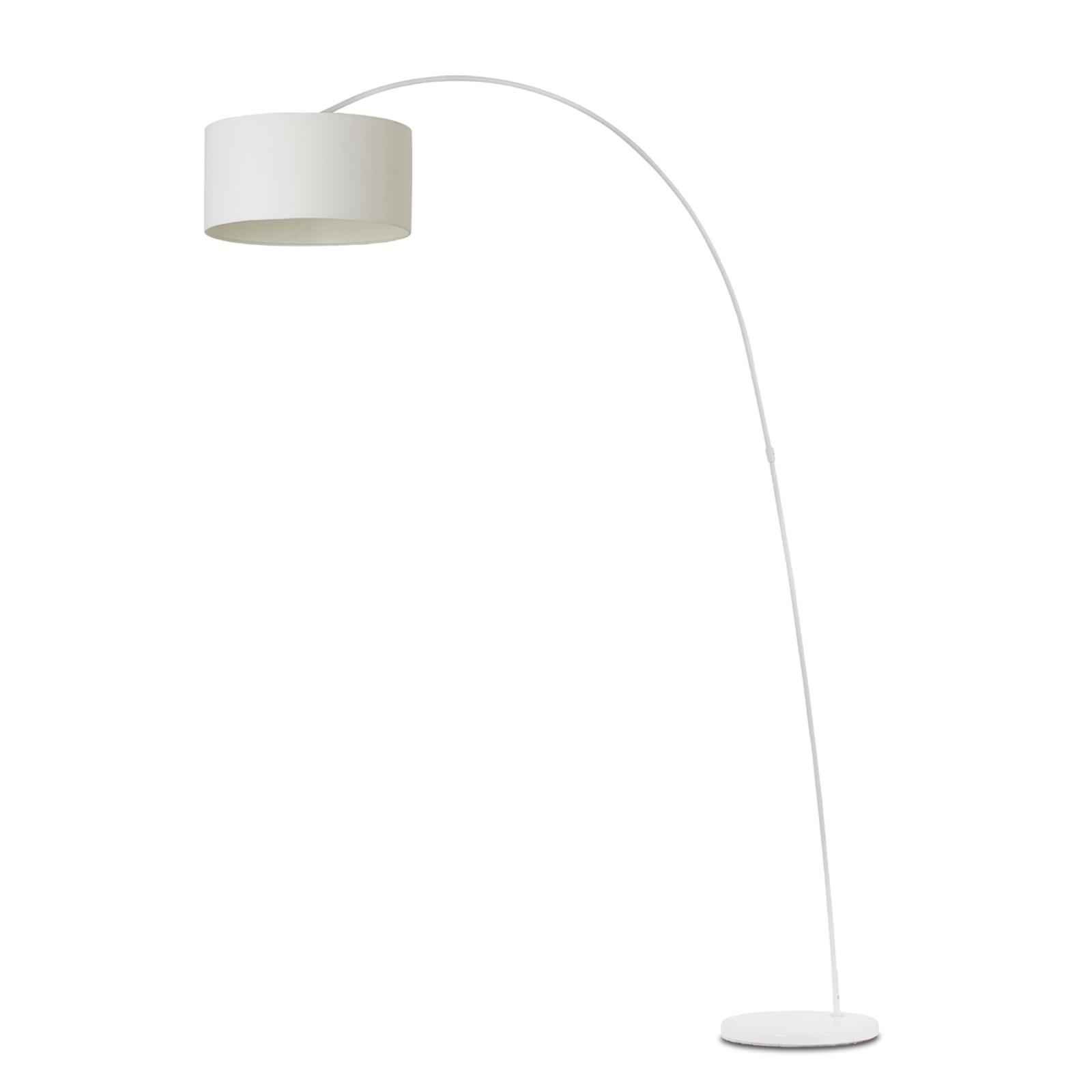 Dekoracyjna lampa w kształcie łuku PAPUA biała