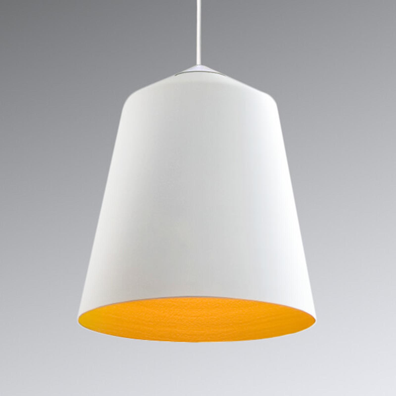 Innermost Circus - hængelampe, hvid-gylden, 36 cm