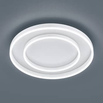 Helestra Sona plafonnier LED dimmable Ø60cmblanc
