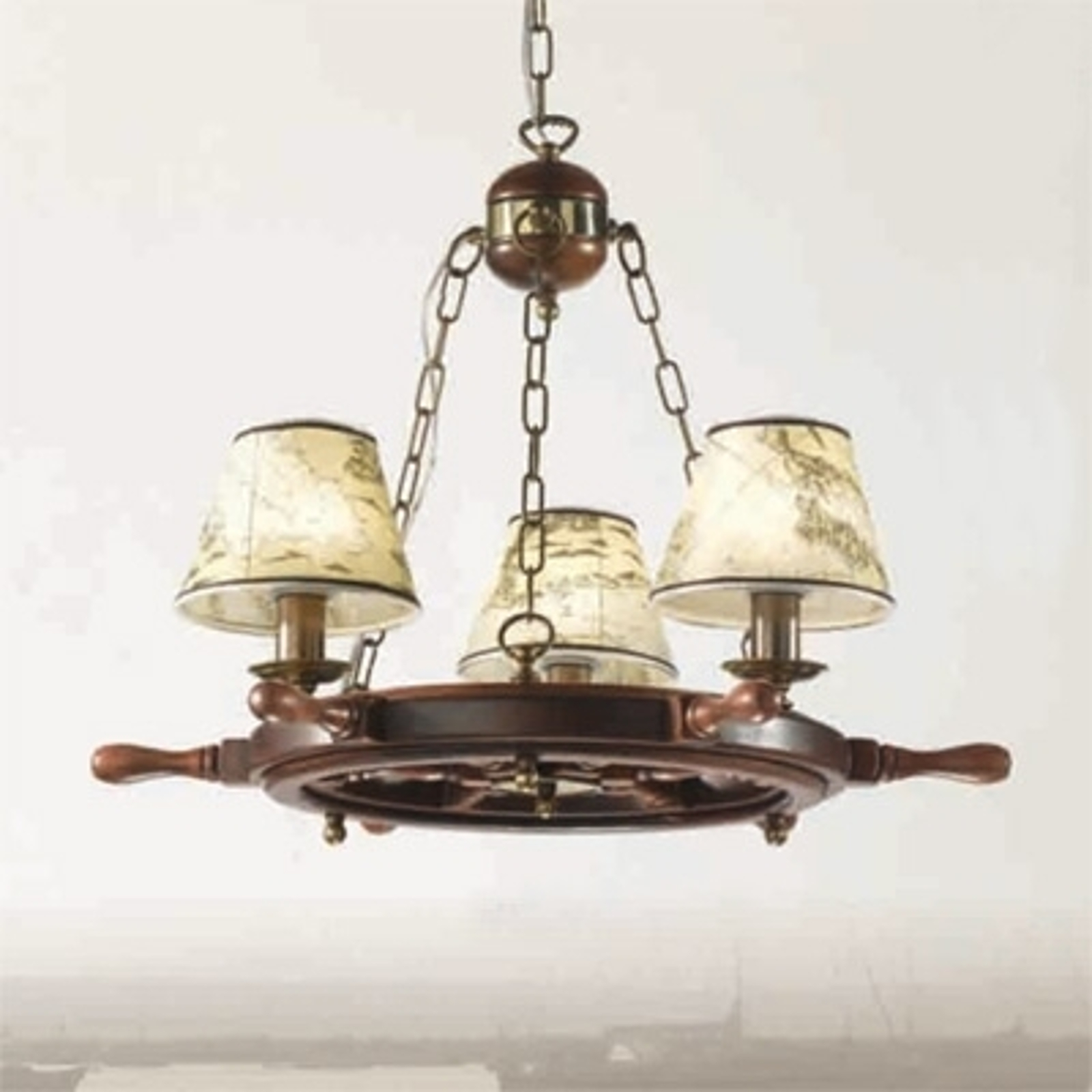 Indrukwekkende kroonluchter Porto 3-lichts