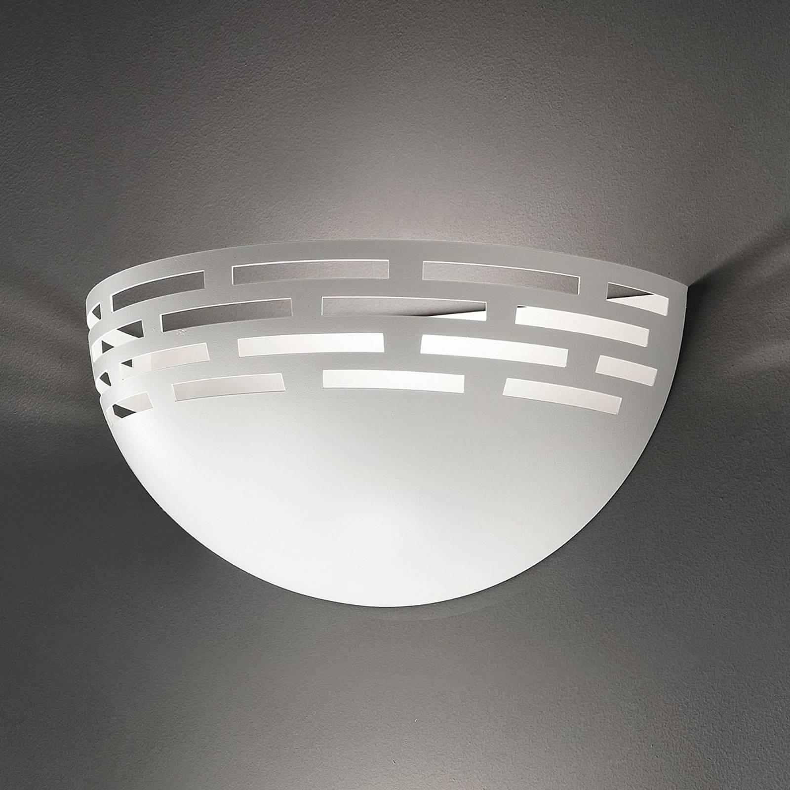 LED-Wandleuchte Greka, weiß