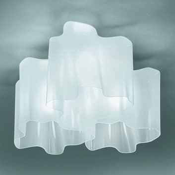 Artemide Logico plafonnier 3 lampes 66x66cm