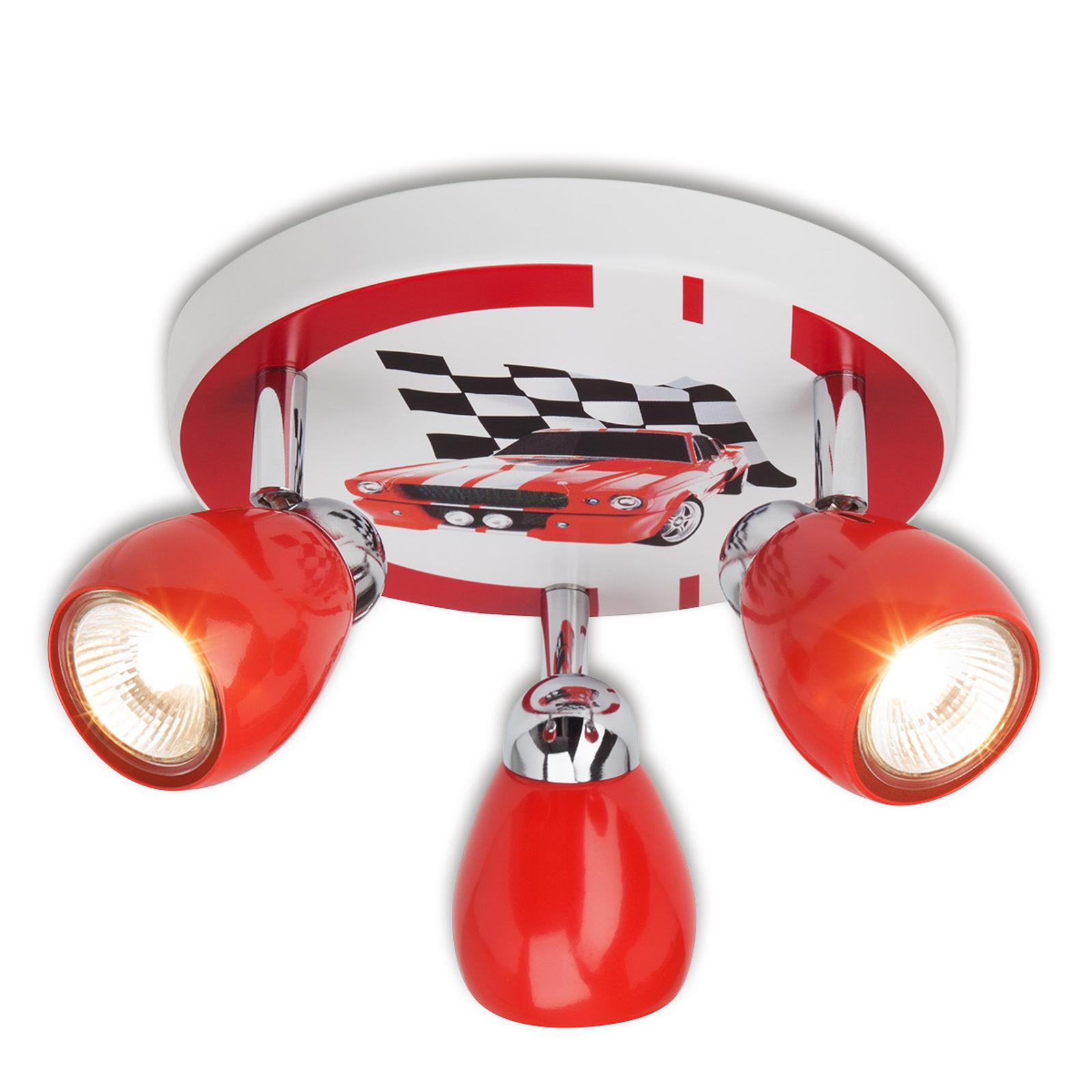 Racing - kinderkamer-plafondlamp