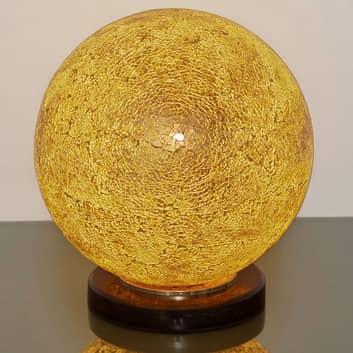 Bordslampa Narziso, bärnsten