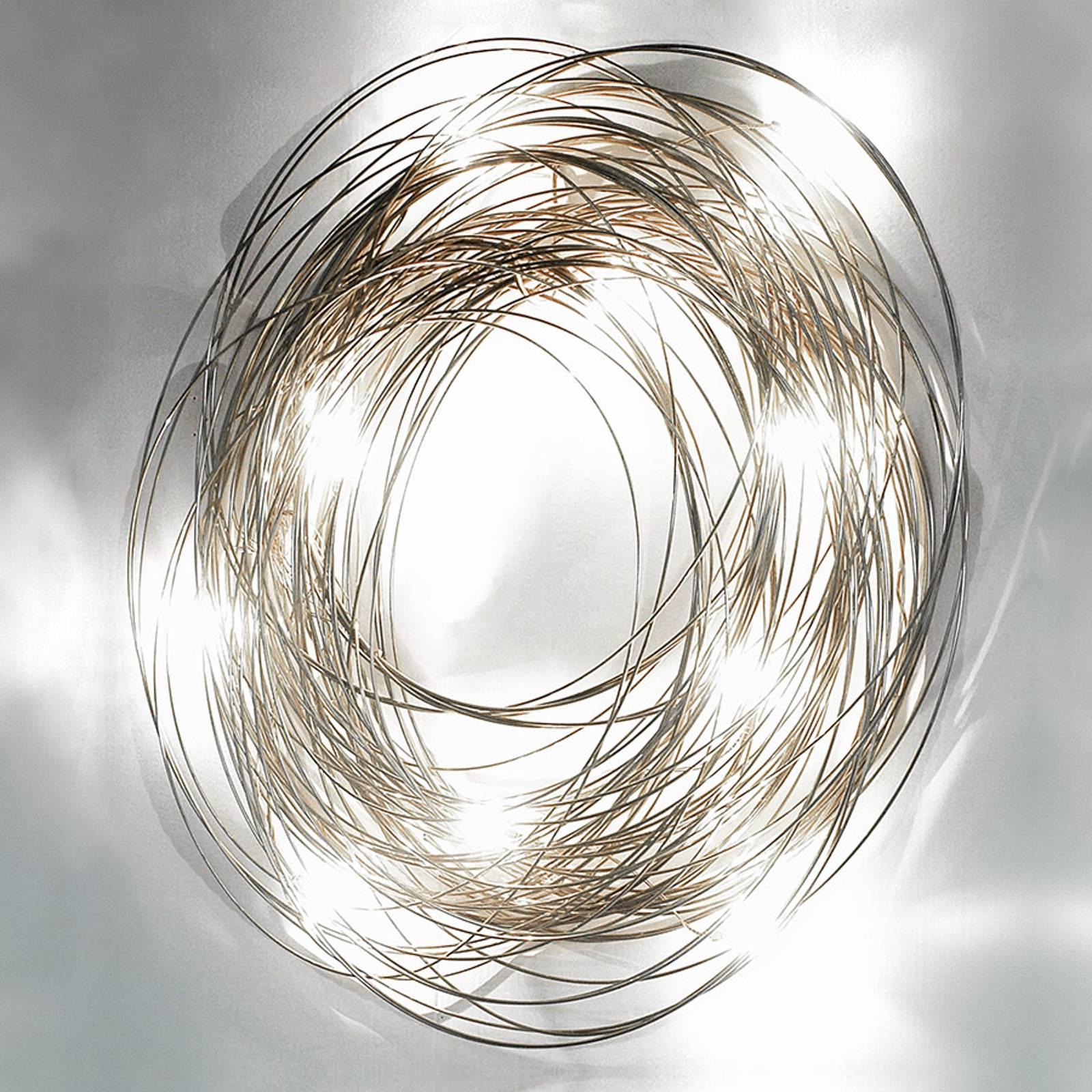 Geraffineerde wandlamp Confusione, 50 cm