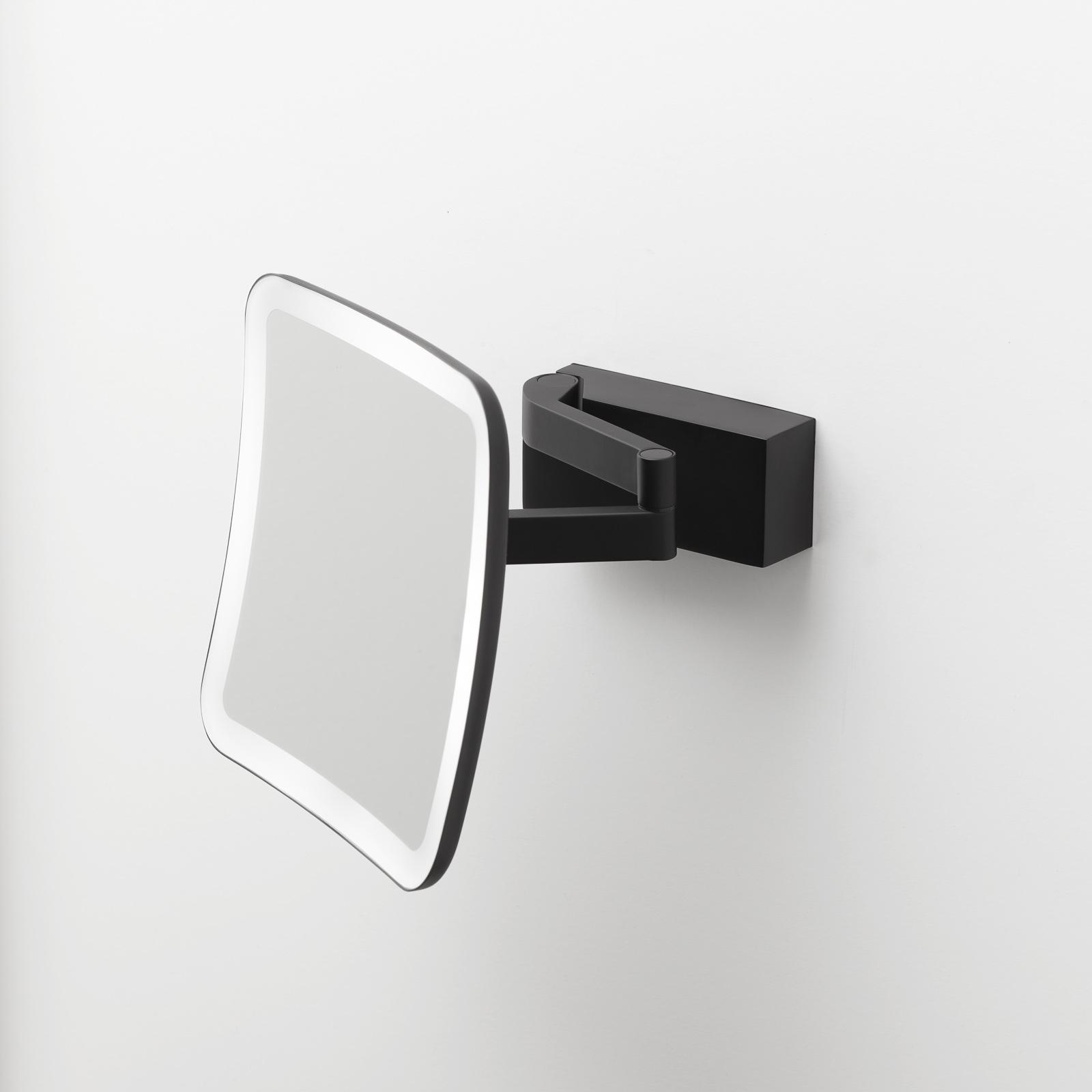 Decor Walther Vision S LED-sminkespeil svart