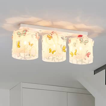 Taklampe Butterfly til barnerommet