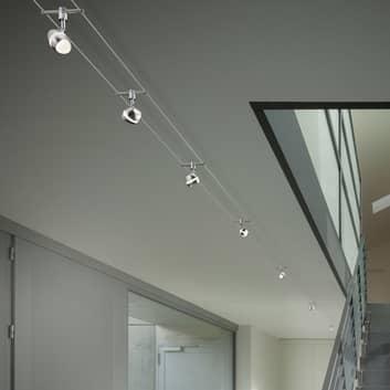 Shark - iluminación LED sobre cable, 7 brazos