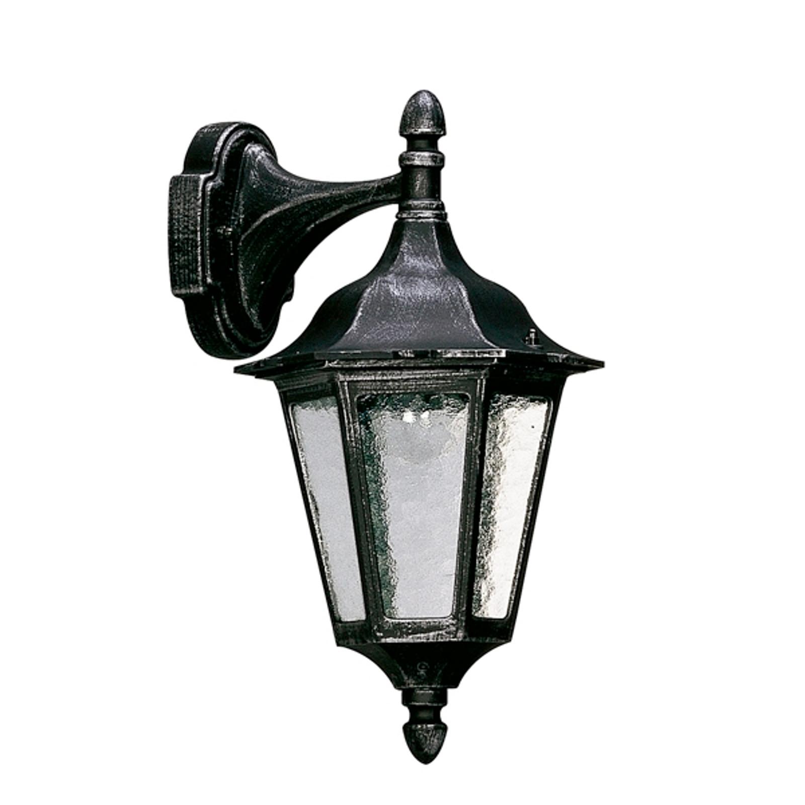 Stylowa zewnętrzna lampa ścienna 1819 S wisząca