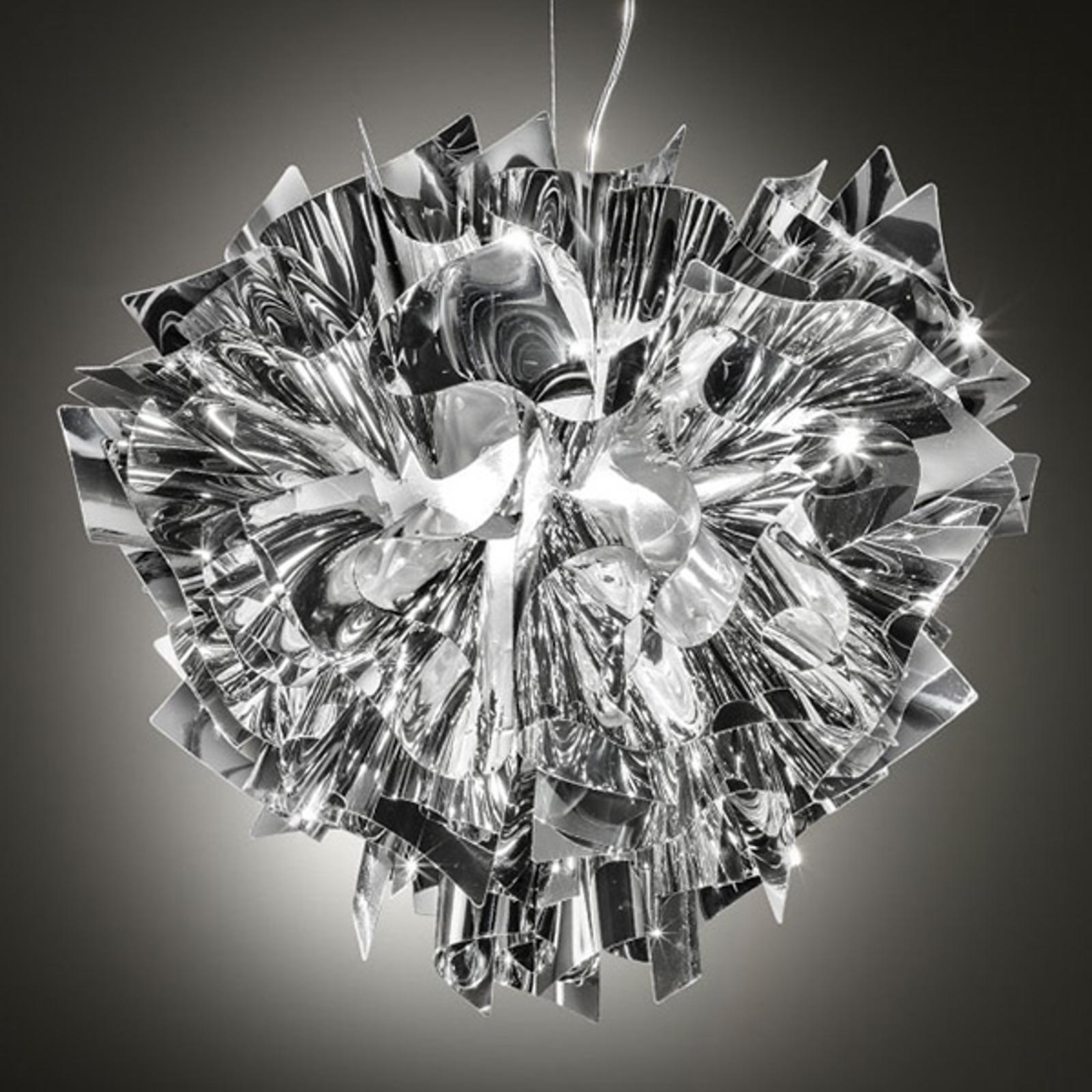 Slamp Veli design-hanglamp, Ø 42cm, zilver