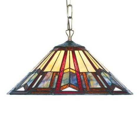 Závěsné světlo Lillie v Tiffany stylu 1 x E27