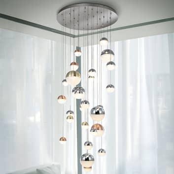 Lampada a sospensione LED Sphere 27 luci colorate