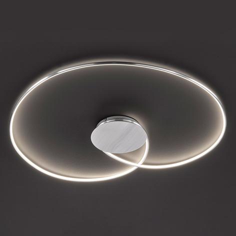 LED-Deckenleuchte Opus, aluminium, Länge 90 cm