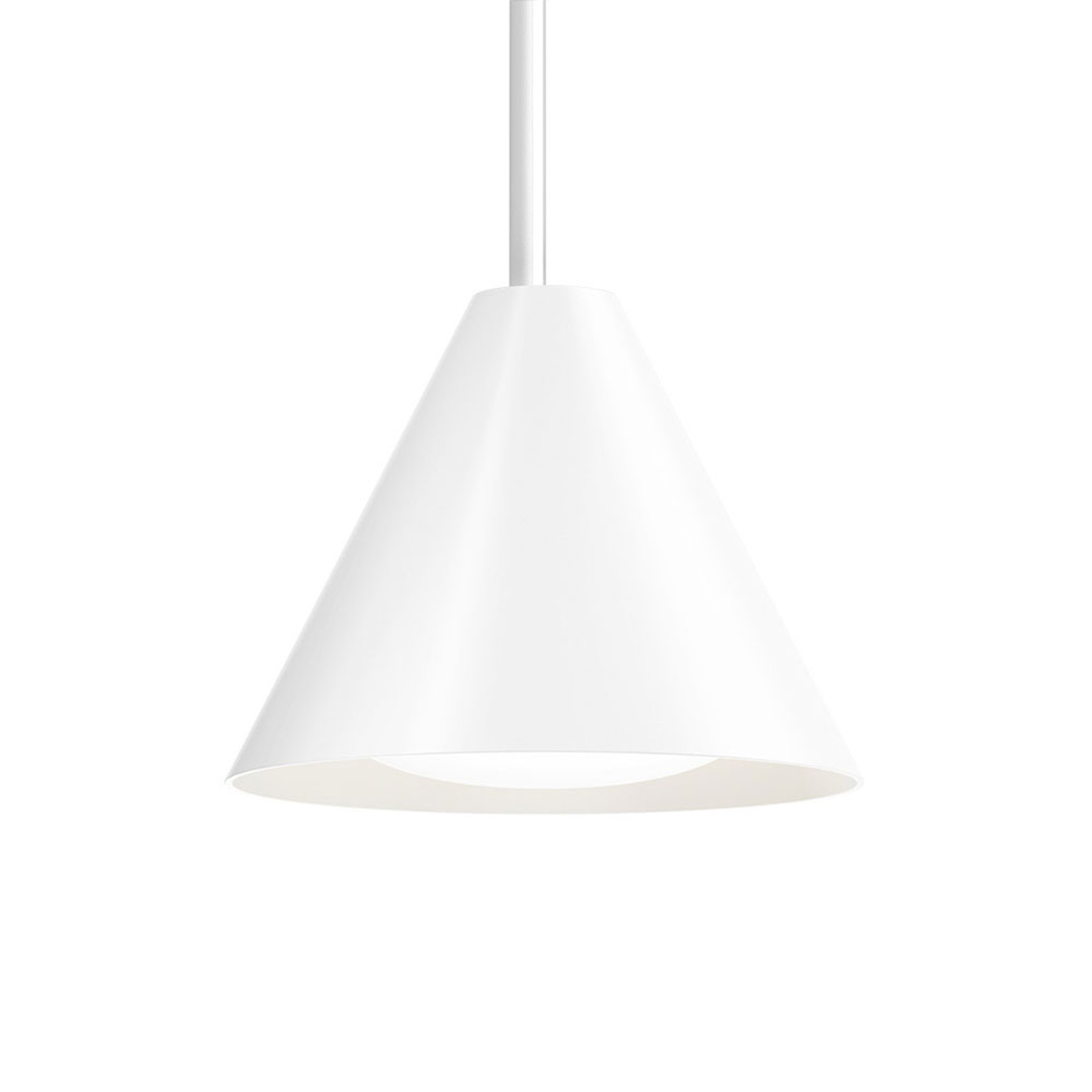 Louis Poulsen Keglen LED-hængelampe 17,5 cm, sort