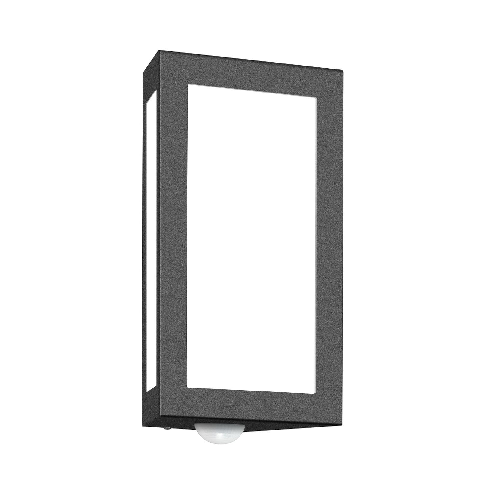 lámpara para pared exterior Long, c/sensor